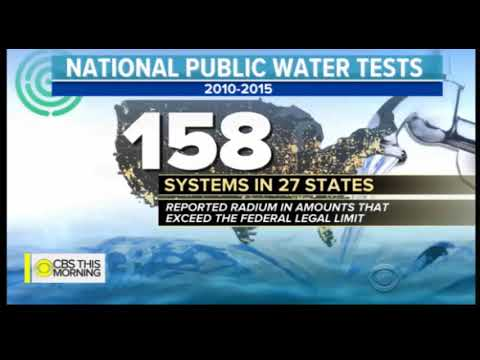 Contaminated Water with Radium in over 170 Million Homes
