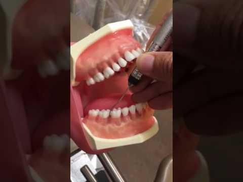 dental hygiene clock positon