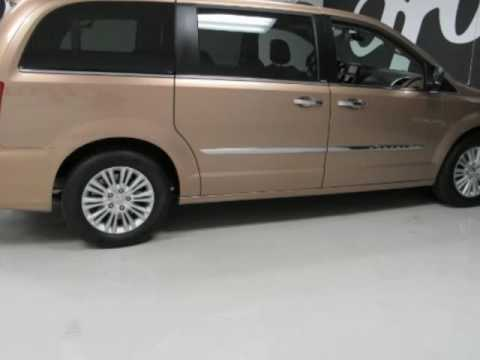 2012 chrysler town country limited used gold minivan for sale greenville tx youtube. Black Bedroom Furniture Sets. Home Design Ideas