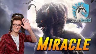 Miracle Mid Lycan Top MMR Plays Dota 2