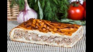 Пирог с капустой и консервированной рыбой, вы такого точно еще не ели