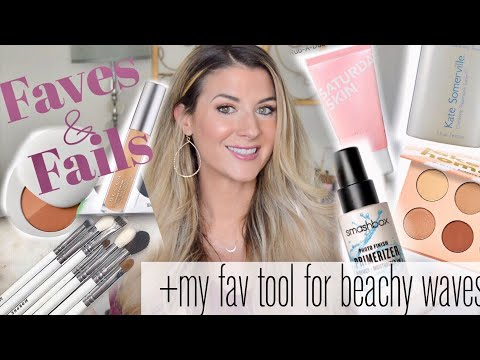 OCTOBER MAKEUP, SKINCARE, AND HAIR FAVORITES (+SOME FAILS TO SHARE) | ALSO, HOW I GET MY BEACH WAVES thumbnail