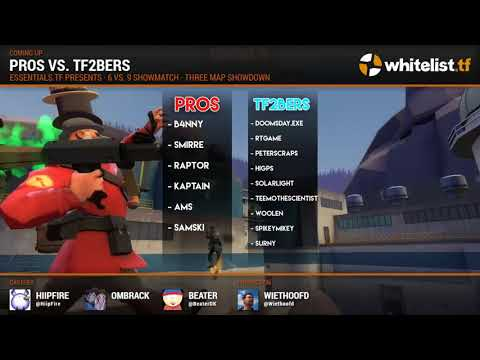 Pros vs. YouTubers: TF2 Showmatch VOD