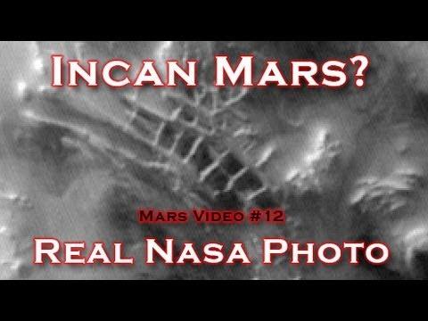 "The Incan City ""Inca City"" on Mars"