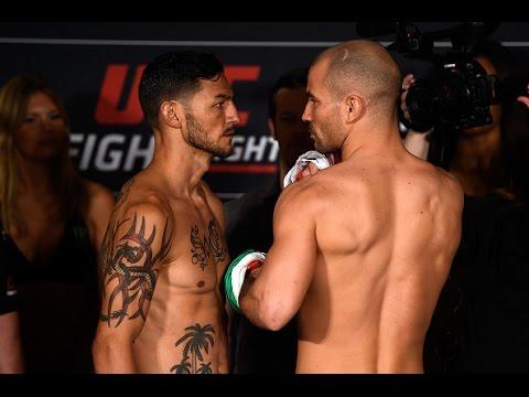 UFC Nashville: encaradas da pesagem
