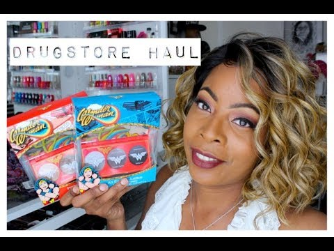 WALGREENS Beauty Haul | WONDER WOMAN Makeup Palettes U0026 MUST HAVE Fragrances!! - YouTube