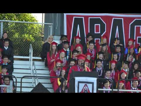 Aragon High School Graduation 2016 -- Hannah Joyce Koury
