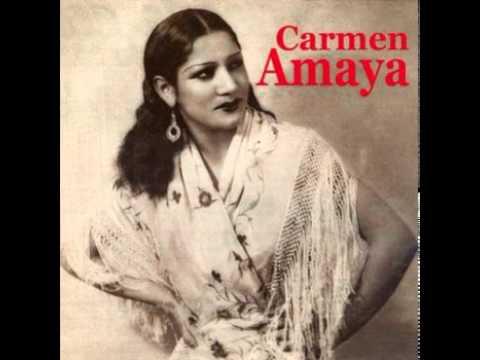 Carmen Amaya - Alegrías (Con Sabicas) - YouTube