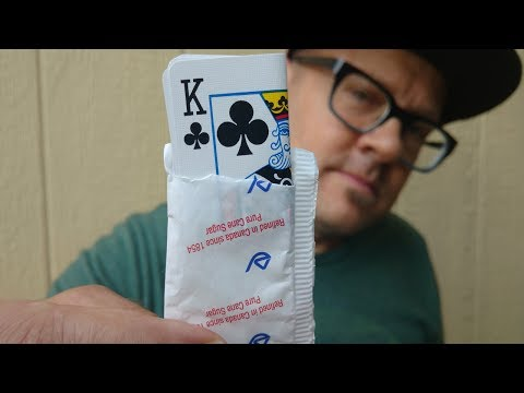 MIND-BENDING 'CARD IN SUGAR' TRICK REVEALED! (Incredible Magic Trick!)