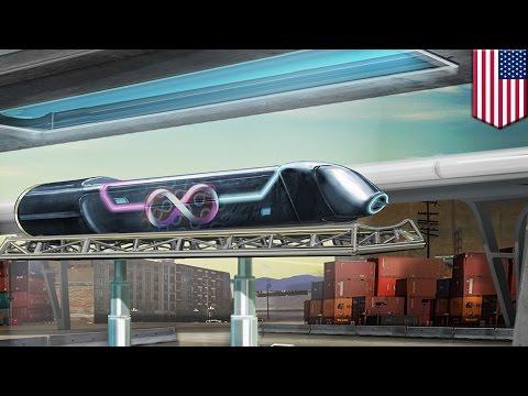 Hyperloop One test: World's first full-size hyperloop test in Las Vegas - TomoNews