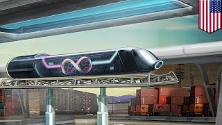 Hyperloop One test: World's first full-size hyperloop test in Las Vegas - TomoNews
