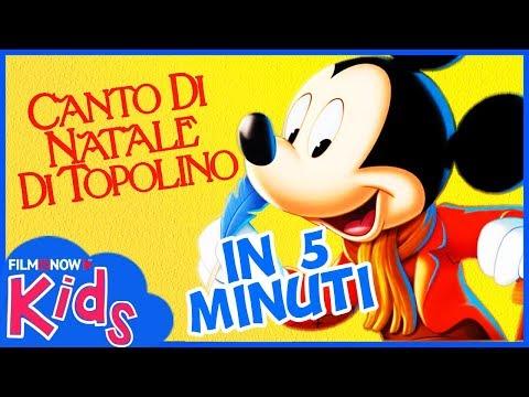 CANTO DI NATALE DI TOPOLINO | Raccontato in 5 Minuti - Classico Film Disney