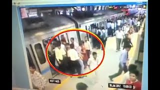 Delhi Metro Live Thief Caught, Mobille stolen CCTV Footage by DMRC Team