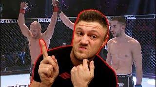 Ich reagiere auf FLYING UWE`s MMA Kampf Debüt | Michael Smolik
