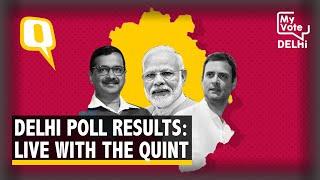 Delhi Election Results LIVE | AAP Ahead in 40+ Seats, Atishi Trails in Kalkaji