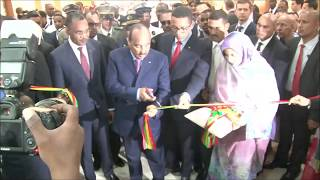 Arrival and Official Opening of Mauritanides 2018 by the President