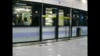 上海地下鉄10号線 ホームドア閉