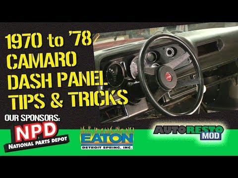1970 Camaro National Parts Depot Dash Pad Install How To Episode 357 Autorestomod
