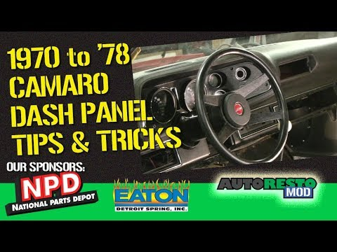 1970 Camaro National Parts Depot Dash Pad Install How To Episode 357 Autorestomod