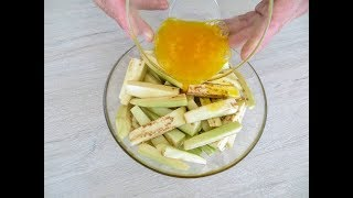 Залейте баклажаны яйцами и получите чудо-закуску! Рецепт, который у меня всегда спрашивают