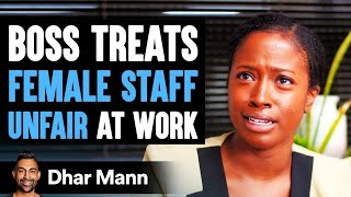 Male Boss Treats Female Employees Unfair At Work, He Lives To Regret It | Dhar Mann