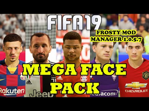 FIFA 19 MEGA FACE PACK ALL-IN-ONE UPDATE (25+ Faces)