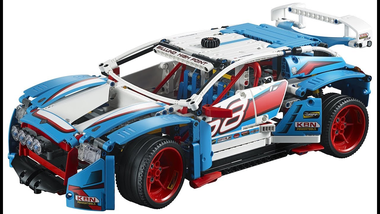 lego 42077 lego technic 2018 rally car official pictures. Black Bedroom Furniture Sets. Home Design Ideas