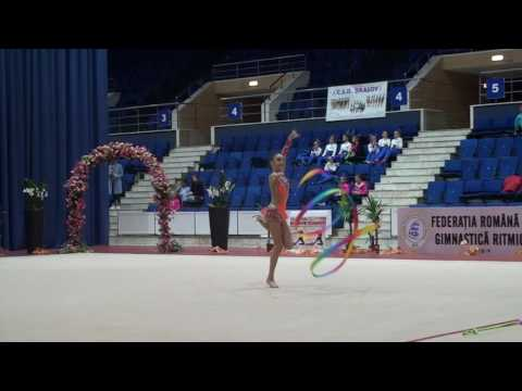 Categoria a II a   Individual   Alice David   CS Olimpia Bucuresti   Ribbon