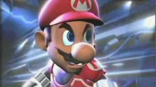 Super Mario Strikers Charged intro new video Wii