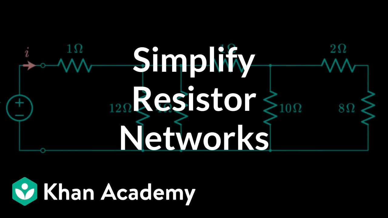 Simplifying Resistor Networks Circuit Analysis Electrical Parallel Led Resistance Schematic Calculator