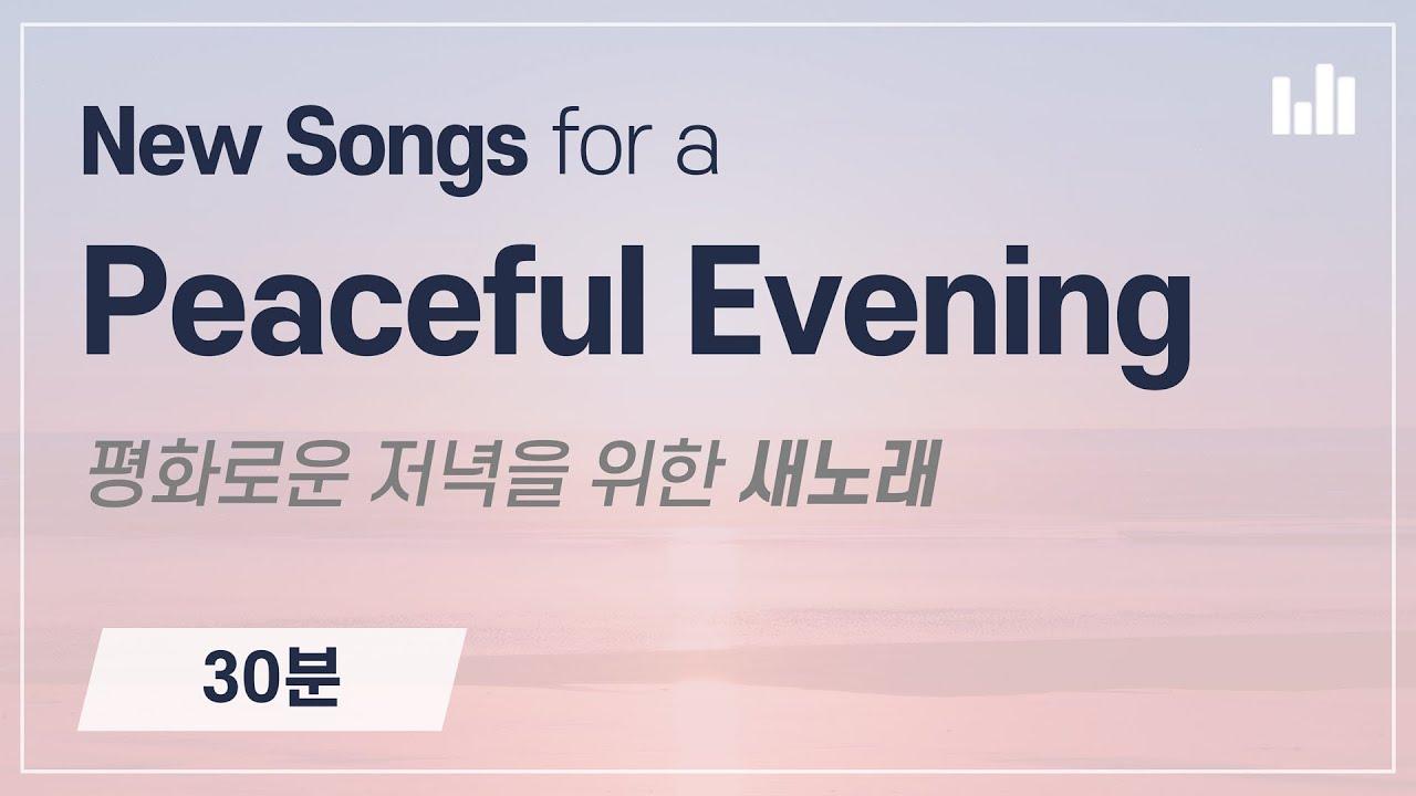 [스트리밍] 평화로운 저녁을 위한 새노래 30분 모음곡, 안상홍 하나님의교회