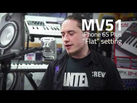 Shure Motiv Digital Microphone Range - Demo