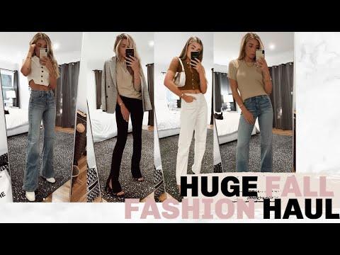 BIGGEST FALL FASHION TREND HAUL! ALL NEW STYLE! | Lauren Elizabeth