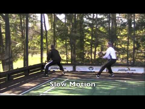 Tips playing paddle tennis