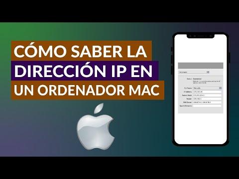 Cómo ver y Saber la Dirección IP Privada e IP Pública en un Ordenador Mac