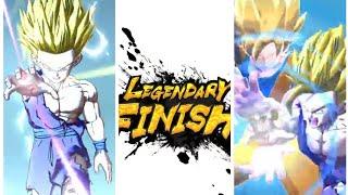 Legendäre Finish!!!? Vater Sohn Kamehameha SSJ2 Gohan Angriff Animation!!!! DB-Legenden