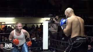 Tiny Hero fights Monster Man to impress Ring Girls - RNR 1