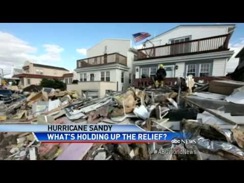 Sandy Relief Funds for Storm Victims Stalled in Washingto