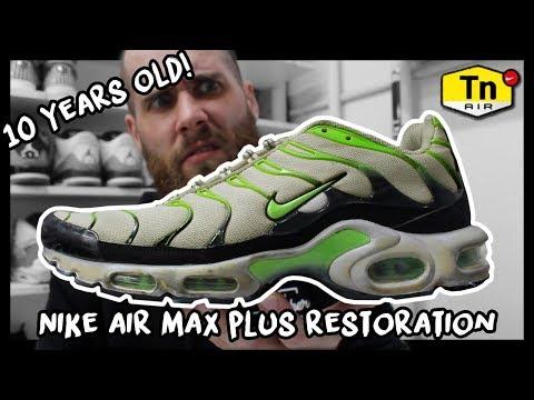 RESTORING 10 YEAR OLD NIKE AIR MAX PLUS!