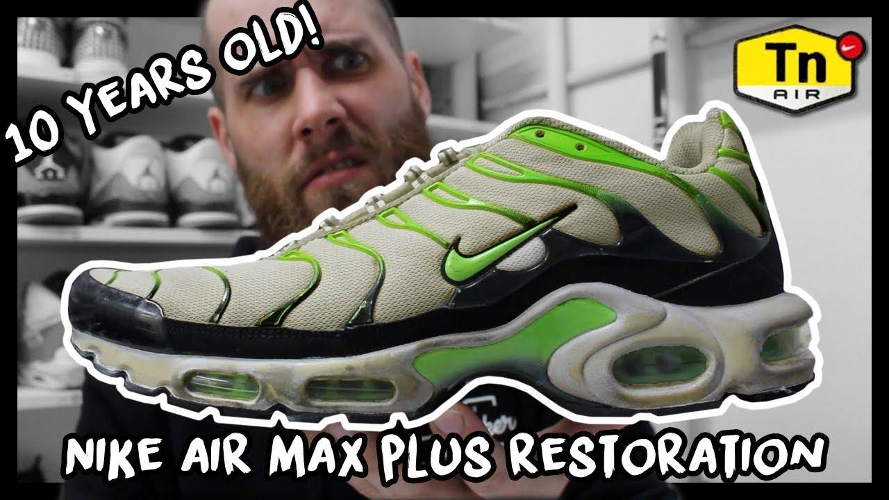 RESTORING 10 YEAR OLD NIKE AIR MAX PLUS