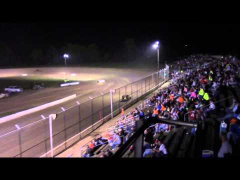 Mod-Lite Heat #3 from Muskingum County Speedway 8-29-15