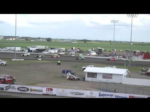 Red River Valley Speedway 06/17/2016 - IMCA Sport Mods Heat 1