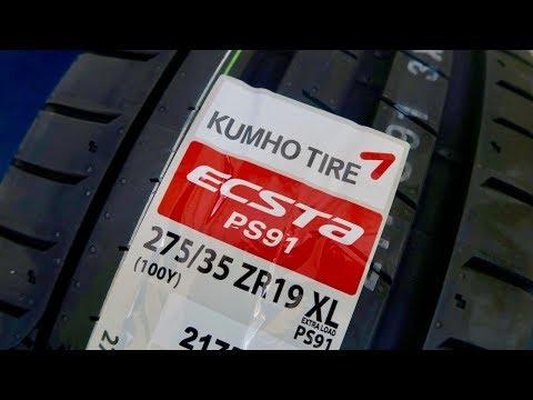 Kumho Ecsta PS91 Performance Tyres! (BMW E92 M3)