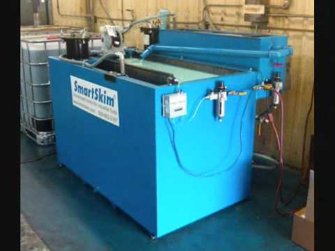 machine coolant recycling system