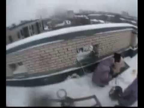 Перед обмуровкой вентиляционной шахты составом МАСАН Энгельса 50