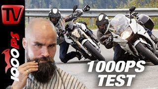 1000PS Test - BMW F 800 R vs F 800 GT 2017 - Lieber nackt oder verkleidet?