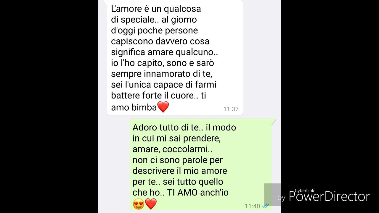 Famoso Le Più Belle Chat D'amore❤ su WhatsApp #6 - YouTube YG09