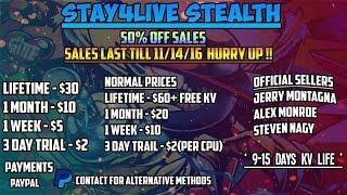 stay4live stealth server new kernel 17511 xbox jtag rgh kv 9 days