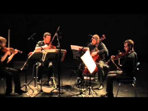 Allain Gaussin - Chakra - par le JACK Quartet