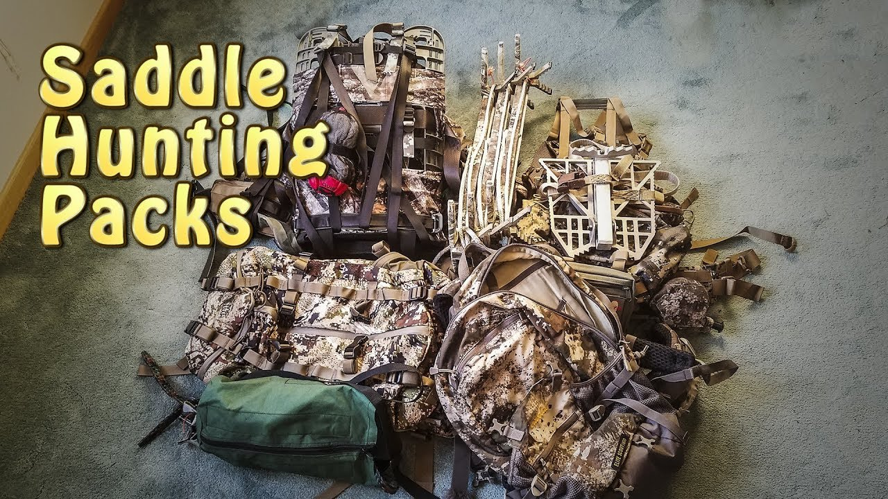 Saddle Hunting - Choosing the Best Pack